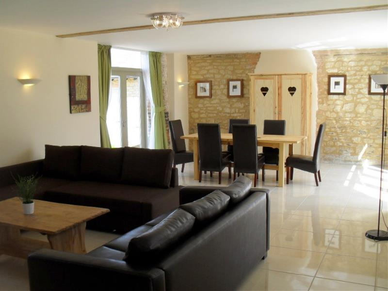 Toad Hall Living and Dining Area